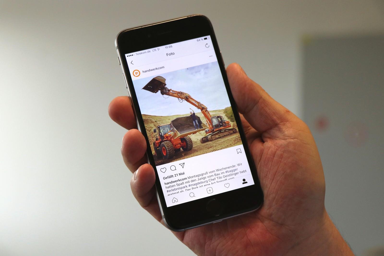 Der Business-Account von Instagram nutzt, kann den Account zum Beispiel über Facebook bearbeiten oder Beiträge bewerben.