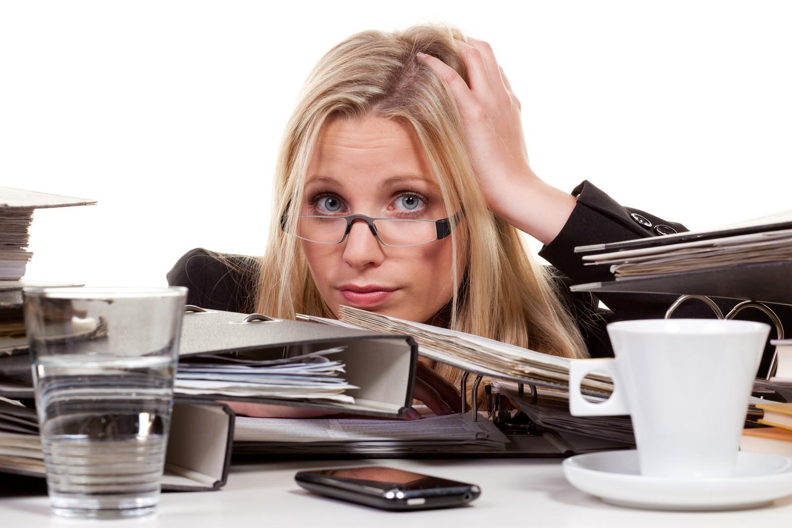 Das Chaos auf dem Schreibtisch ist vorprogrammiert!