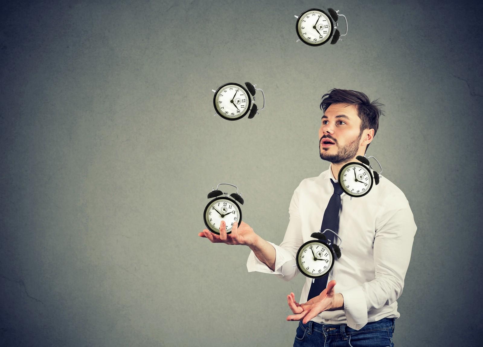 Mit der richtigen Zeitplanung gelingt das leichter.