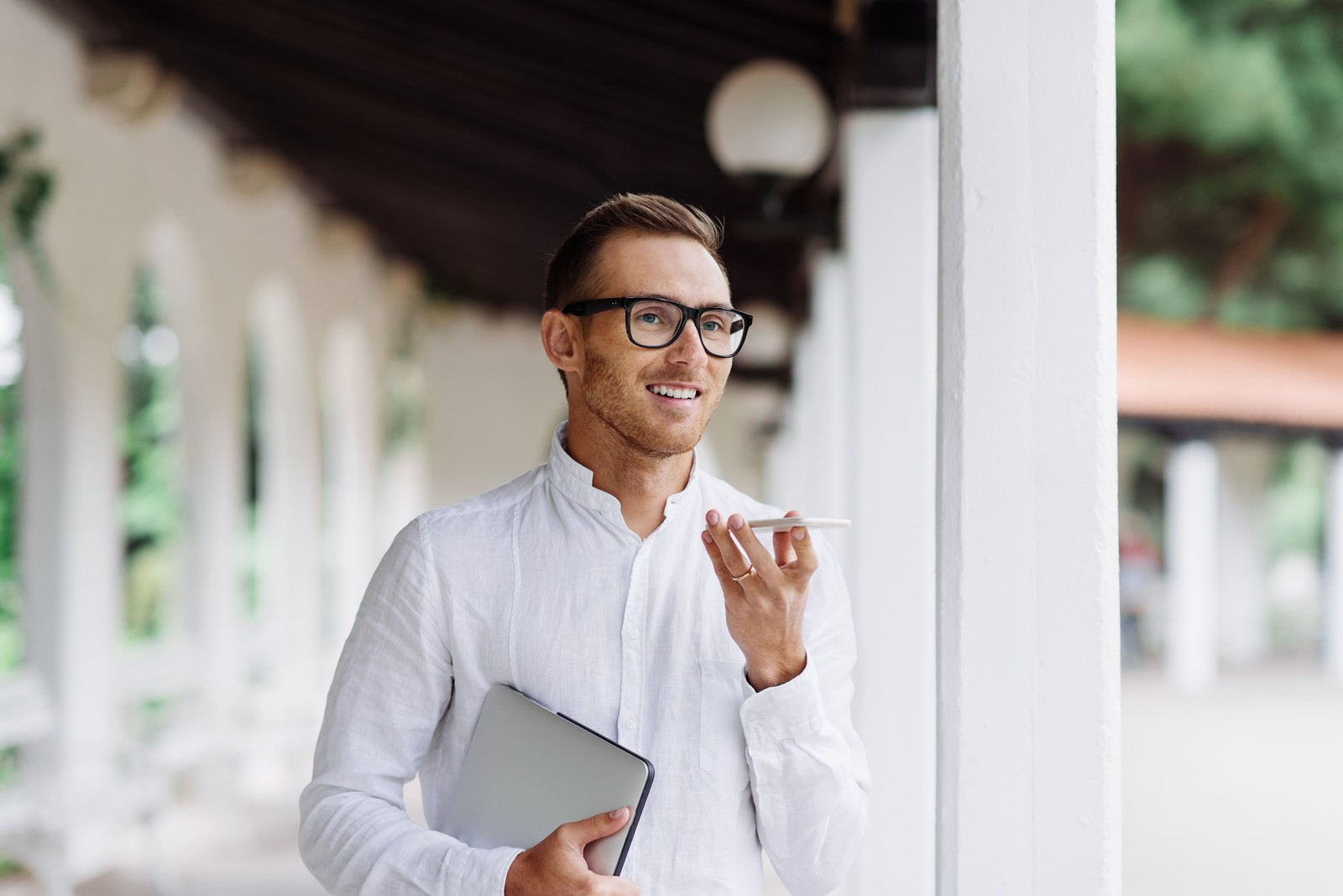 Sprachnachrichten per Messenger eignen sich vor allem zur Information der Kunden.