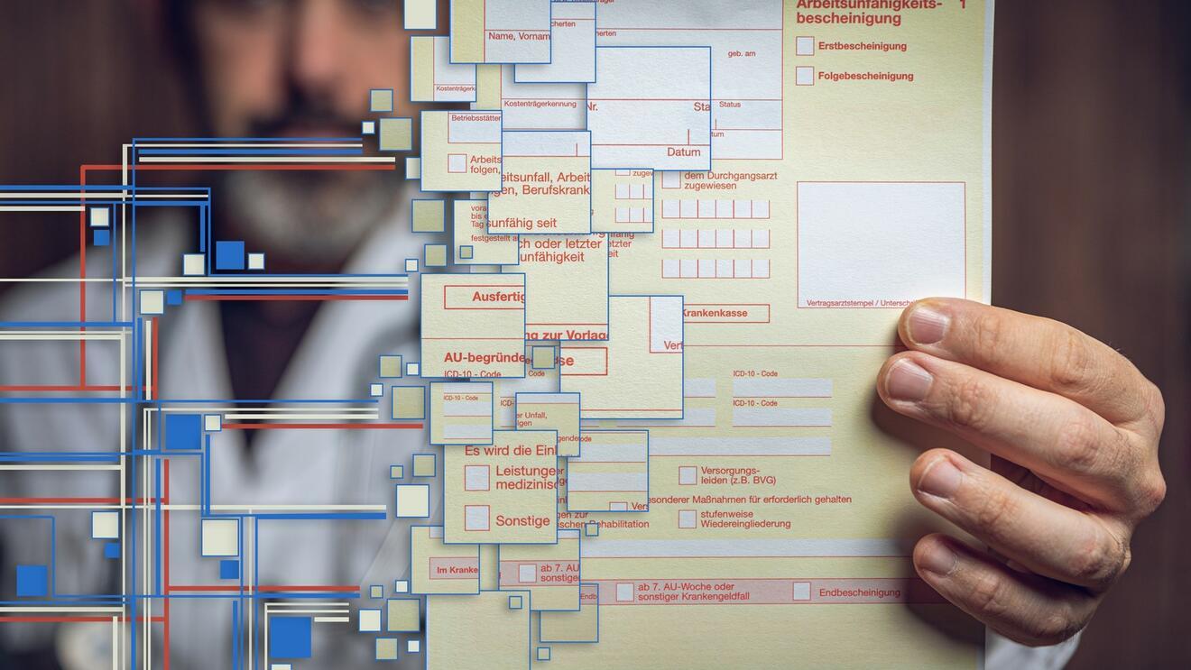 Digitale Krankschreibung wird ab Herbst 2021 eingeführt