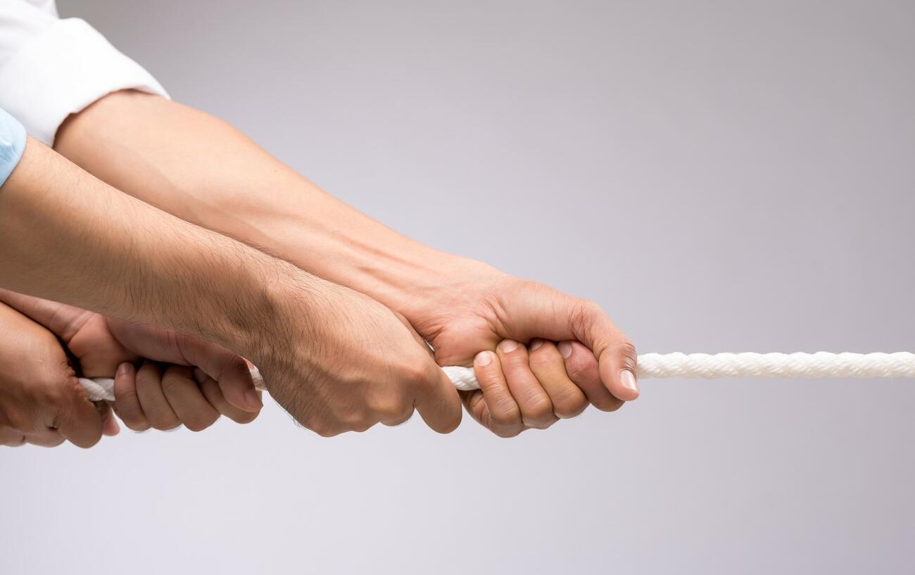 Mitsprache: An einem Strang ziehen