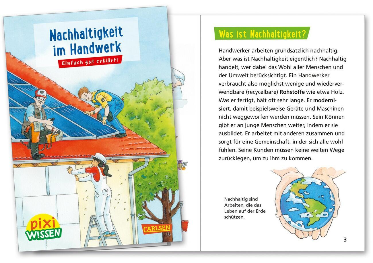 Neues Pixi-Buch erklärt Nachhaltigkeit im Handwerk