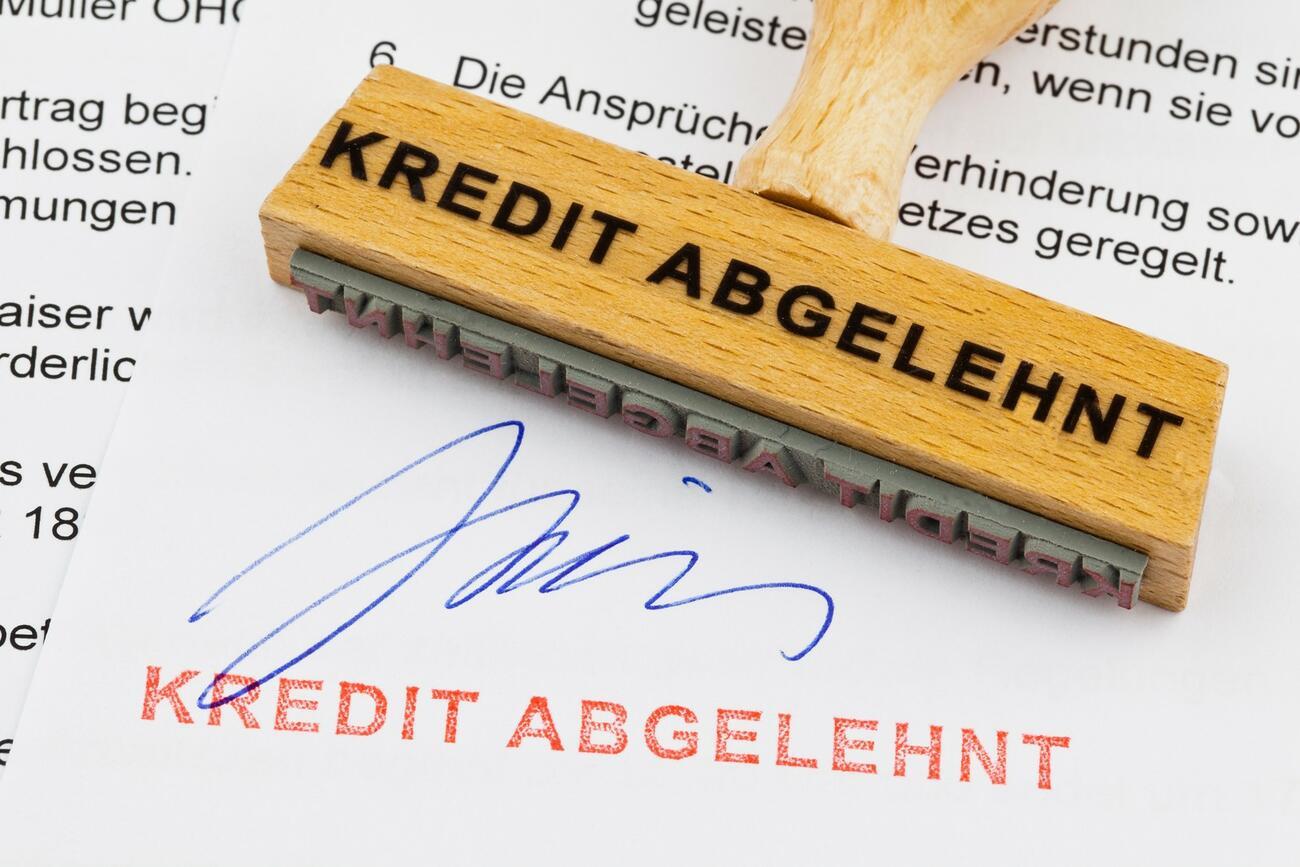 Banken sollen Kreditablehnung begründen - auf Nachfrage