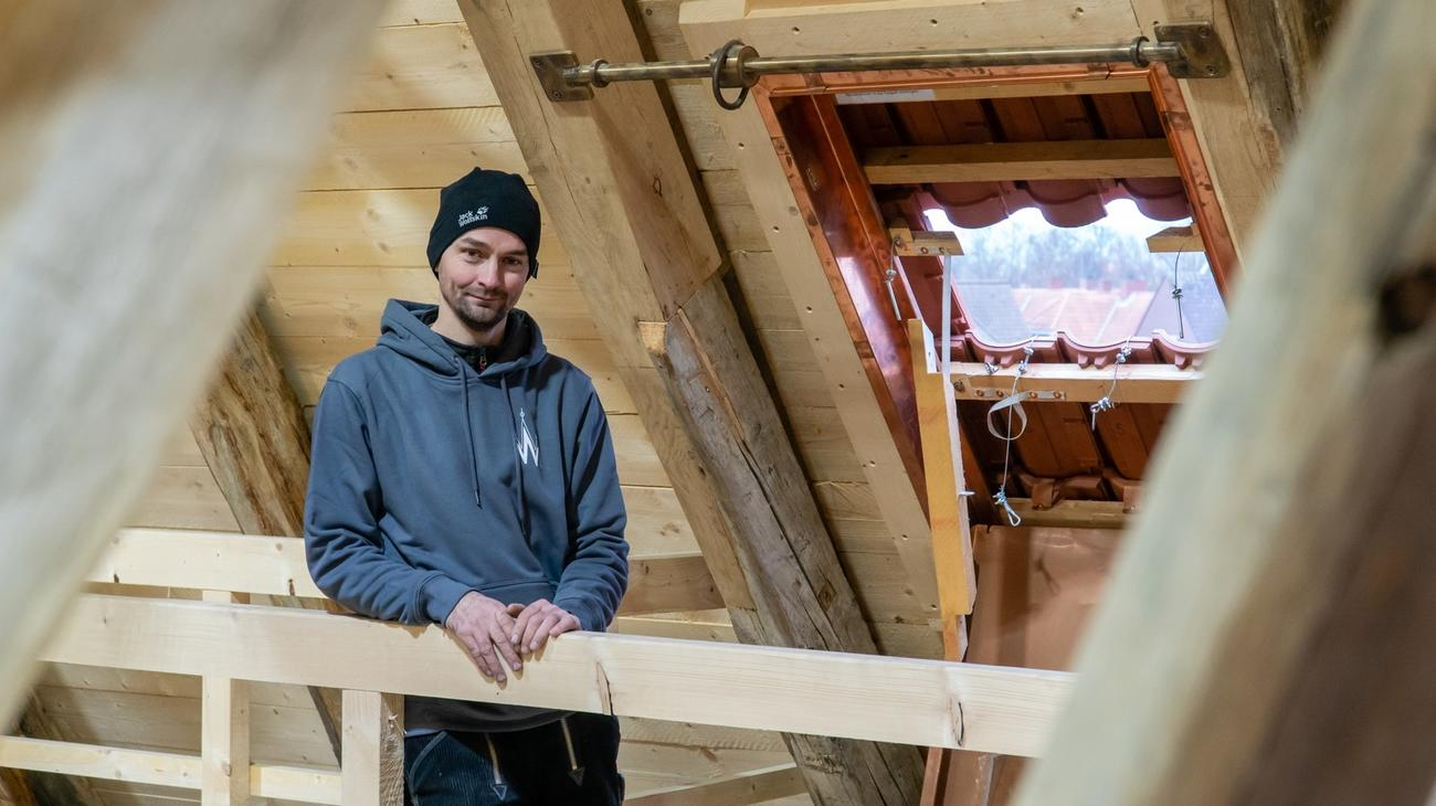 Denkmalschutz-Dachdecker: vom Handwerk nur das Beste