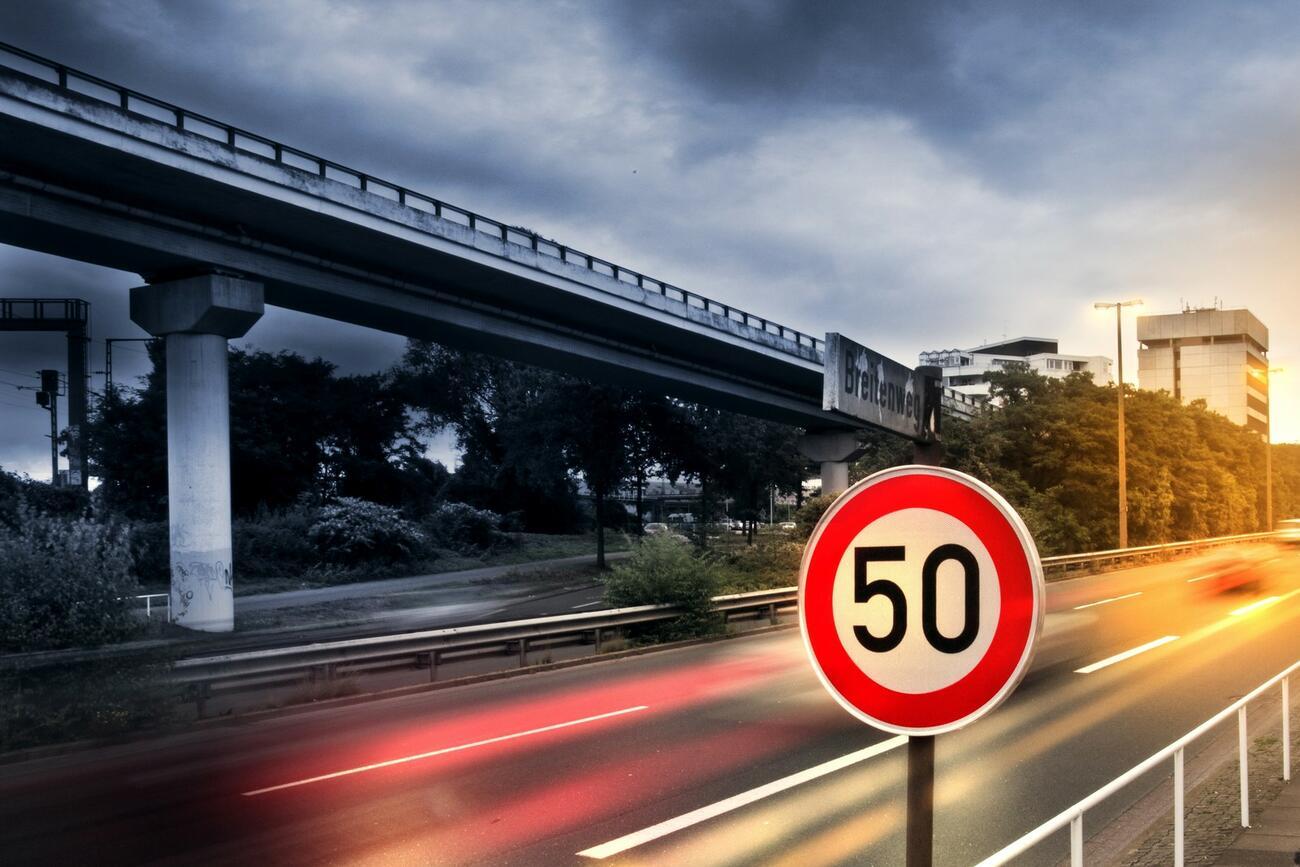 Trotz Tempomat: Fahrer muss auf das Tempo achten