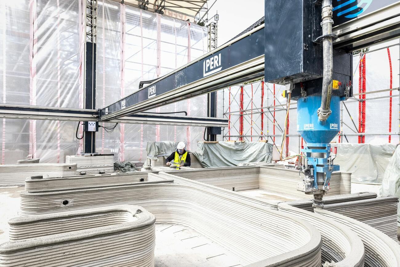 In NRW entsteht erstes Wohnhaus aus dem 3D-Drucker