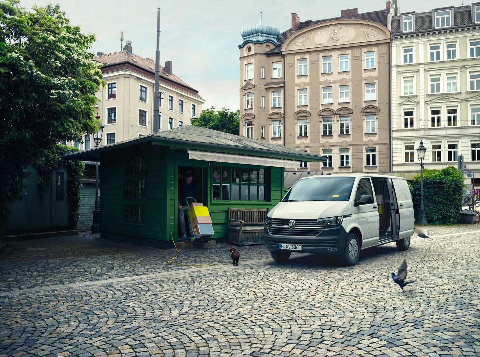 E-Transporter für Ihren Fuhrpark